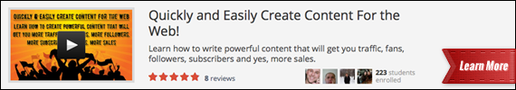 Quickly and Easily Create Content For the Web!